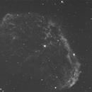 """NGC6888 in Halpha First Light GS RC 14"""" Truss,                                Juergen"""