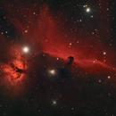 Flame & Horse Nebula (IC434),                                KiwiAstro
