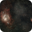 Lagoon and Trifid Nebulas,                                Ryan Betts