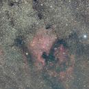 NGC 7000 - North American Nebula,                                Alex Vukasin