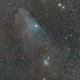 IC 4592 : Nébuleuse par réflexion bleue à tête de cheval,                                laup1234