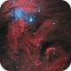 Christmas Tree cluster & Cone Nebula,                                jlarrea