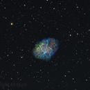 The Crab Nebula,                                Komet