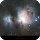 The Orion and Running Man Nebulas in Orion,                                Paul Baker