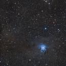 Iris and Ghost nebulas,                                Tromat