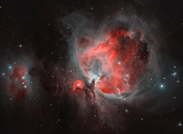 The Orion Nebula - M42,                                Wissam_Astrophoto...