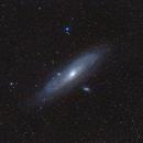 Andromeda Galaxy Widefield,                                Gabriel R. Santos (grsotnas)
