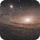 3 Panel Mosaic of M31,                                astroniklas