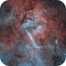 The Lion Nebula # 1 (Sh2-132),                                pete_xl