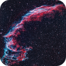 NGC 6992 - The Eastern Veil Nebula in Cygnus,                                CrestwoodSky