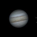 Jupiter, Io and Calixto.,                                newtonCs