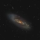 Messier 106,                                floreone