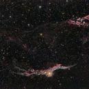 Central & Western Veil (NGC 6974, NGC 6960),                                Linda