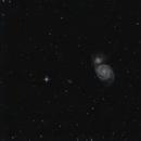 Galaxie du tourbillon,                                Nils Goury