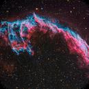 Veil Nebula NGC 6992 - Deep Sky West - HaOIIIRGB Acquisition - Free Download ! :-),                                Daniel Nobre