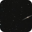 NGC4565  (même image du 4 mai retravaillée),                                Joel85