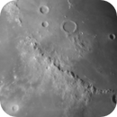 Moon: Mare Imbrium, Archimedes and Montes Apenninus,                                Christoph Winkler