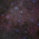 Part of Vela Supernova Remnant,                                Gabriel R. Santos (grsotnas)