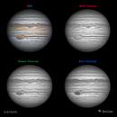 Jupiter in RGB - 6/27/2019,                                Damien Cannane