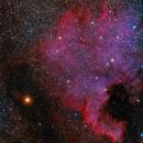 NGC7000 Nebulosa Norteamérica,                                Ernesto Arredondo