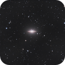 Messier-104 the Sombrero Galaxy,                                Seymore Stars