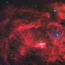 NGC 6357 - HaRGB,                                Lee Borsboom