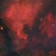 North America and Pelican Nebula,                                Emanuele Chiappar...