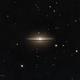 M104 Sombrero Galaxy LRGB,                                Tom