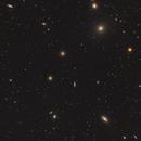 Fornax Galaxy Cluster - NGC 1365 - NGC1380 - NGC 1386,                                Michel Lakos M.