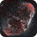 Crescent Nebula - NGC6888,                                Tamas Kriska