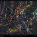 Veil Nebula (South West section),                                Mike Oates