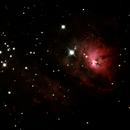 M8 - The Lagoon Nebula,                                Bob Hufnagel