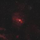 NGC 7635 Bubble Nebula 20200901 12000s HOO 01.6.3,                                Allan Alaoui