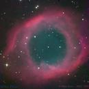 Helix Nebula (NGC 7293),                                Miles Zhou