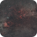 Stars and Nebula in Cygnus @ 50 mm f/4,                                Wolfgang Zimmermann