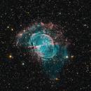 M27 the Dumbell nebula,                                Caroline Berger