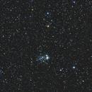 Open Cluster in der Cassiopeia,                                Enrico