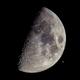 Moon and Saturn  Sept 17 - 2018,                                  Robert Eder
