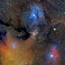 RHO Ophiuchi with a little Astrograph .... WO RECAT 51,                                Luis Marco Gutierrez