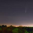 Comet C/2020 F3 NEOWISE over UK skies,                                8472