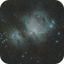 M42 and neighbours,                                Henry Kwok