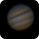 Jupiter & Great Red Spot w/ iPhone 4S,                                NathanWebb