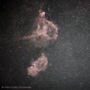 Heart- and Soul Nebula,                                Hans-Peter Olschewski