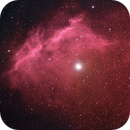 Sh2-9 and M4 Processed to Highlight the Hydrogen Cloud,                                hbastro