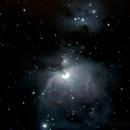 Orion Nebula - Reprocessed with Running Man,                                athornton79
