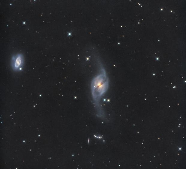 UGC6524 (NGC3718) & other six galaxies in LRGB,                                Jose Carballada