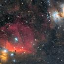 M42+IC434,                                LeoAtom