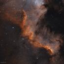Cygnus wall, NGC 7000, bicolor,                                Alexander Sorokin