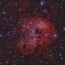IC410 - Nebula in Auriga,                                Stellario