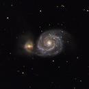 M51: Whirlpool Galaxy (2010),                                Kurt Johnston